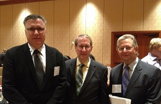 General Counsel, Robert Labbe Esq., with David Hirson, Esq. and U.S. Congressman Robert Goodlatte
